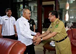 Rosman Malomo Hadiri Rakornis Bidang Perdagangan, Koperasi dan UKM