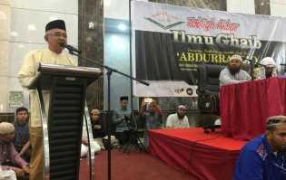 Gubri Harap Syaikh Abdurrazak dari Madinah Bisa Tabligh Akbar di Masjid Raya Annur