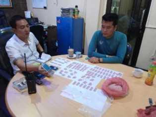 Seorang Wartawan Gadungan Bawa 854 Butir Pil Ekstasi dari Aceh ke Pekanbaru