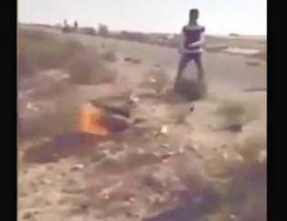 Suku di Mesir Bakar Pentolan ISIS Hidup-hidup