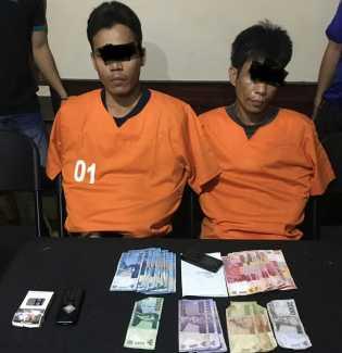 Miliki Sabu, Dua Warga Kateman Digelandang Polisi