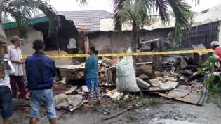 Rumah dan Mobil Warga Pelalawan Ludes Terbakar