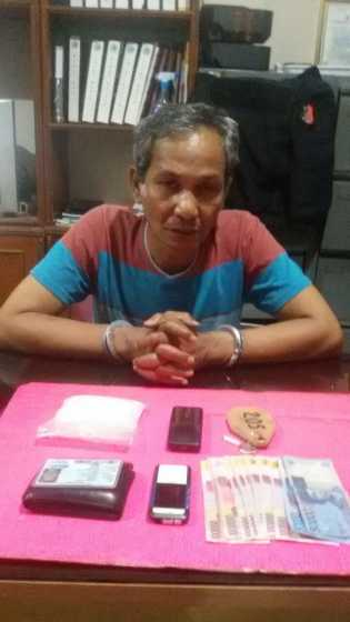 Transaksi Narkoba, Warga Batam Dibekuk di Inhil