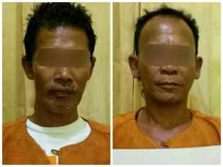 Asik Main Klotok, Dua Pria Kateman Ini Digrebek Polisi