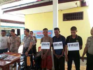 Polres Rohil Kembali Tetapkan 2 Tersangka Pembunuhan Ridwan