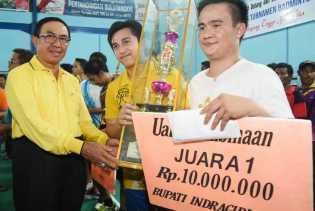 Tutup Turnamen Bulutangkis, HM Wardan : Ini Bisa Dijadikan Motivasi