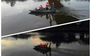 Tukang Cat Jembatan Siak Hilang Tenggelam di Sungai