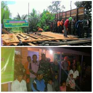 Ke 14, KPSI Bedah Rumah Milik Abdul Satar Warga Tempuling