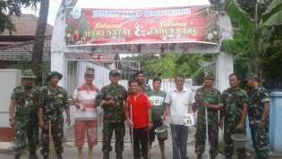 Juang Kartika, Koramil 01/Tembilahan Gelar Bansos