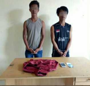 Berkat CCTV, Dua Pencuri di Inhil ini Berhasil Ditangkap