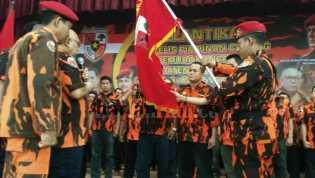 Ketua MPW PP Riau Lantik MPC PP Inhil