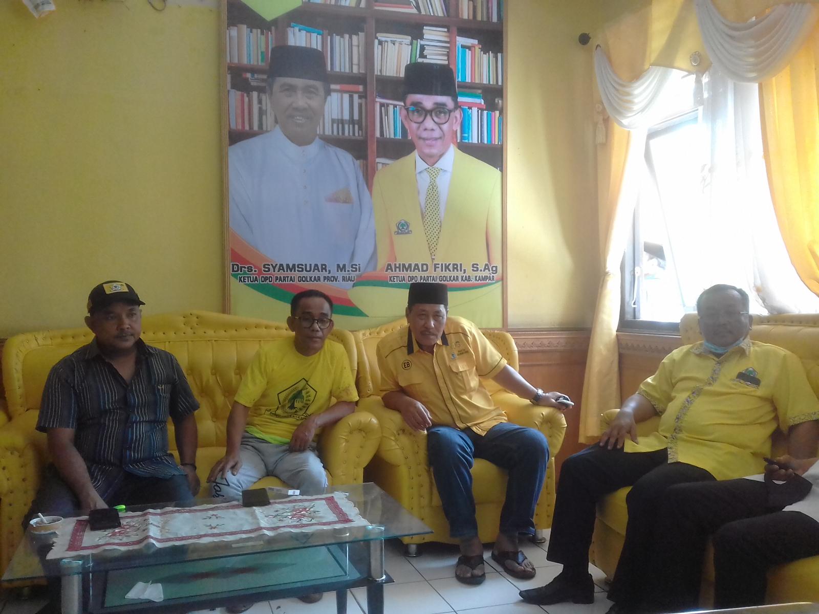 Golkar Kampar Siap Selenggarakan Musda X DPD II Partai Golkar