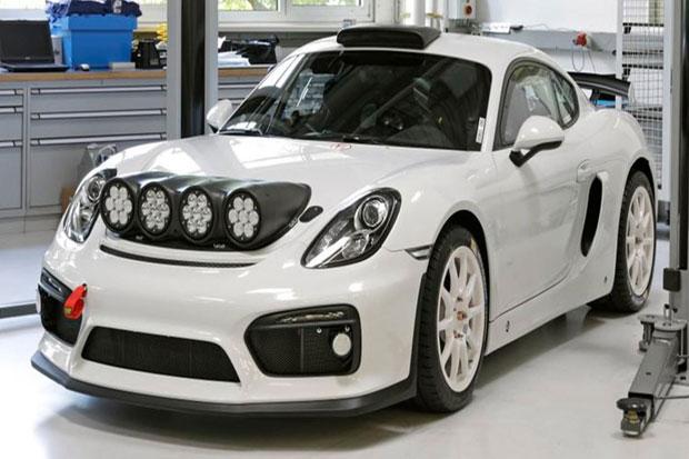 Porsche Perkenalkan Cayman GT4 Versi Custom