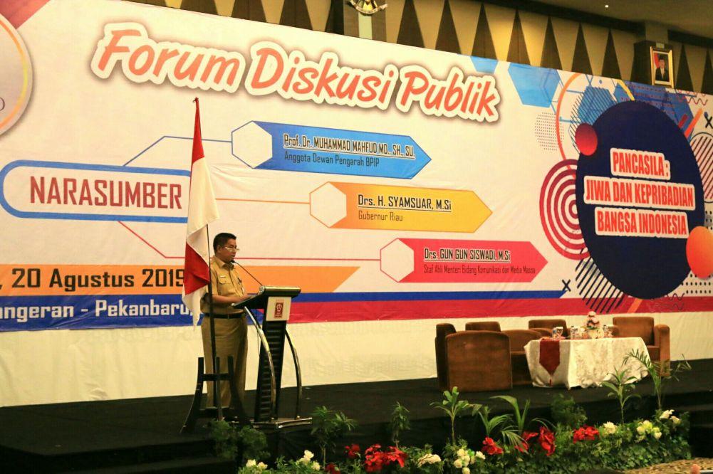Kearifan Lokal Riau Sudah Sejalan Falsafah Pancasila