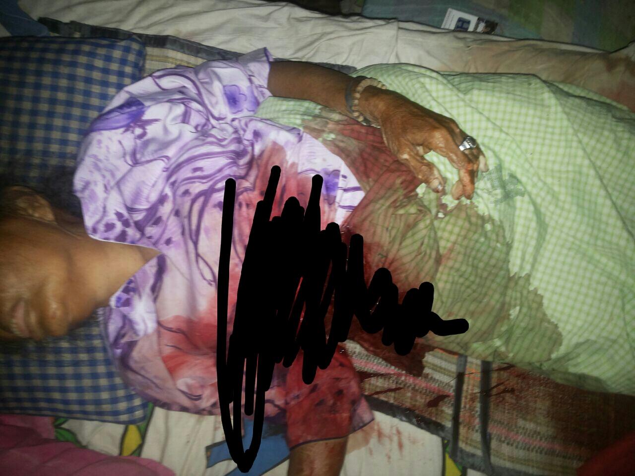 Jadi Korban Curas, Nenek di Tanah Merah Tewas Bersimbah Darah