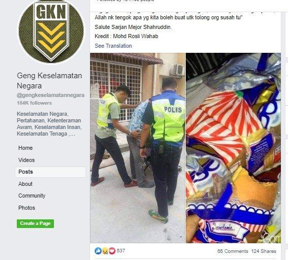 Tolong Pencuri Roti, Aksi Polisi Ini Malah Bikin Warganet Terharu