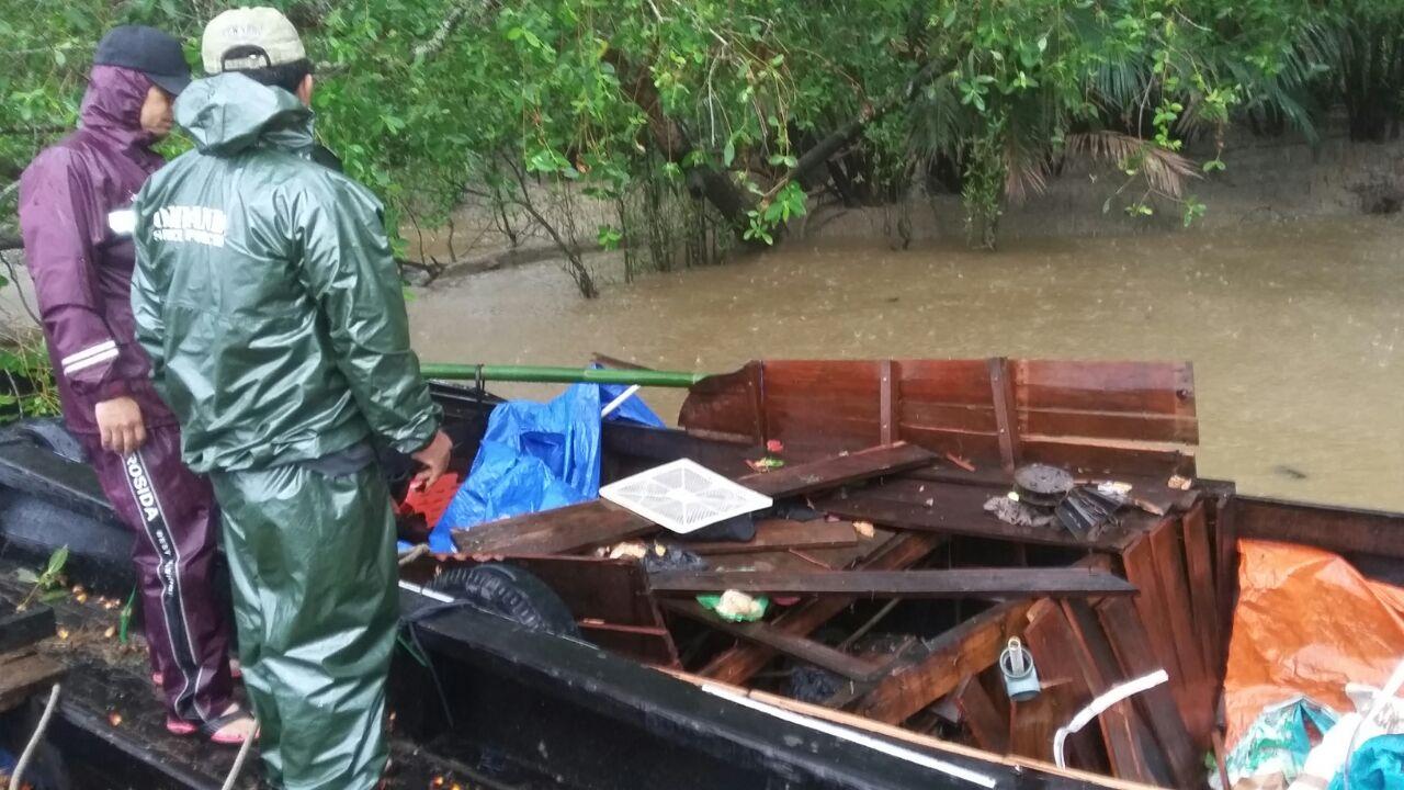 Speed Boat Hantam Pompong, Satu Dinyatakan Hilang