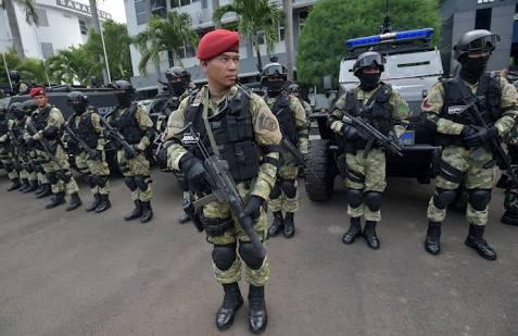 Jelang Kedatangan Presiden Jokowi, Pengamanan di Pekanbaru Diperketat