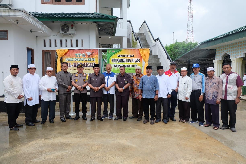 Pembangunan Rumah Tahsin Dan Tahfidz Upaya Pemkab Inhil Membumikan Al-Qur'an