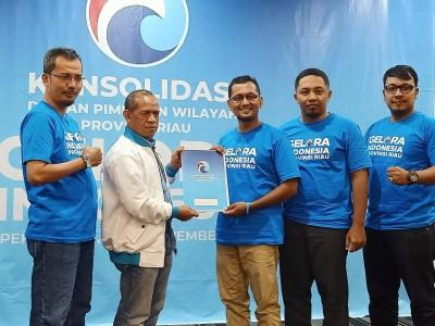 Firmansyah Putra Nahkodai DPD Partai Gelora di Kabupaten Kepulauan Meranti