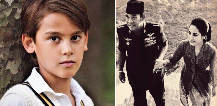Ganteng Cucu Soekarno Blasteran Belanda dan Jepang