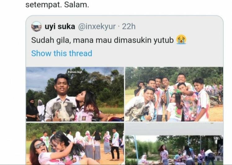 Video Vulgar Siswi SMA Rokan Hulu Rayakan Kelulusan saat COVID-19 Viral