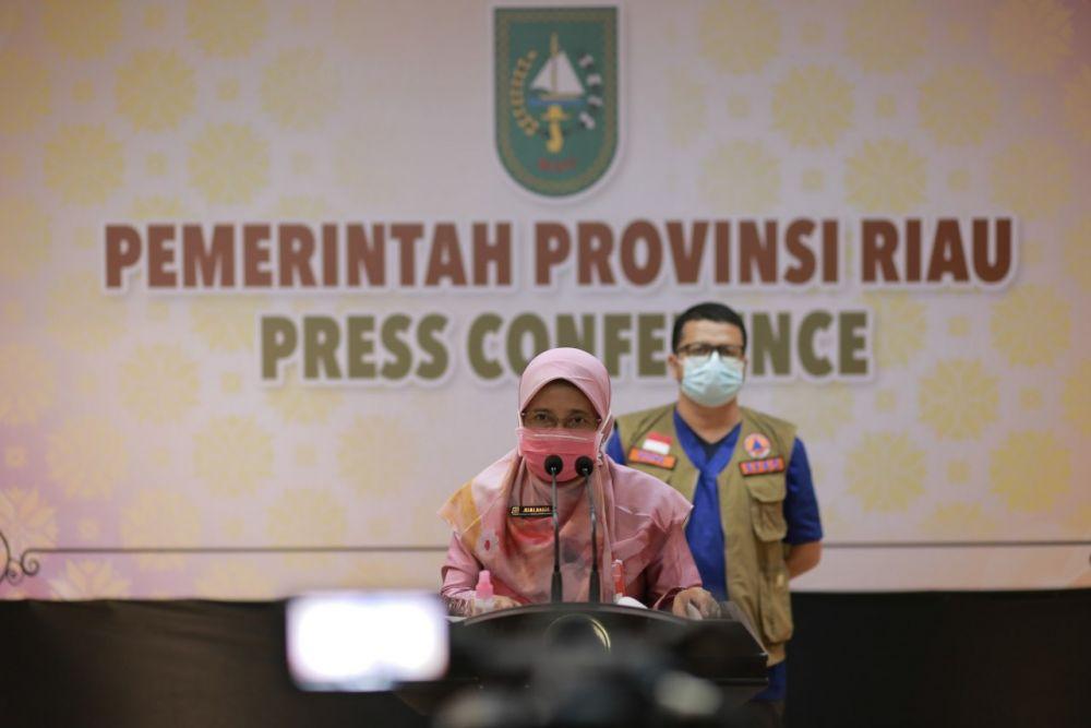 70 Persen Penduduk di Riau Bakalan Menerima Vaksin Covid-19