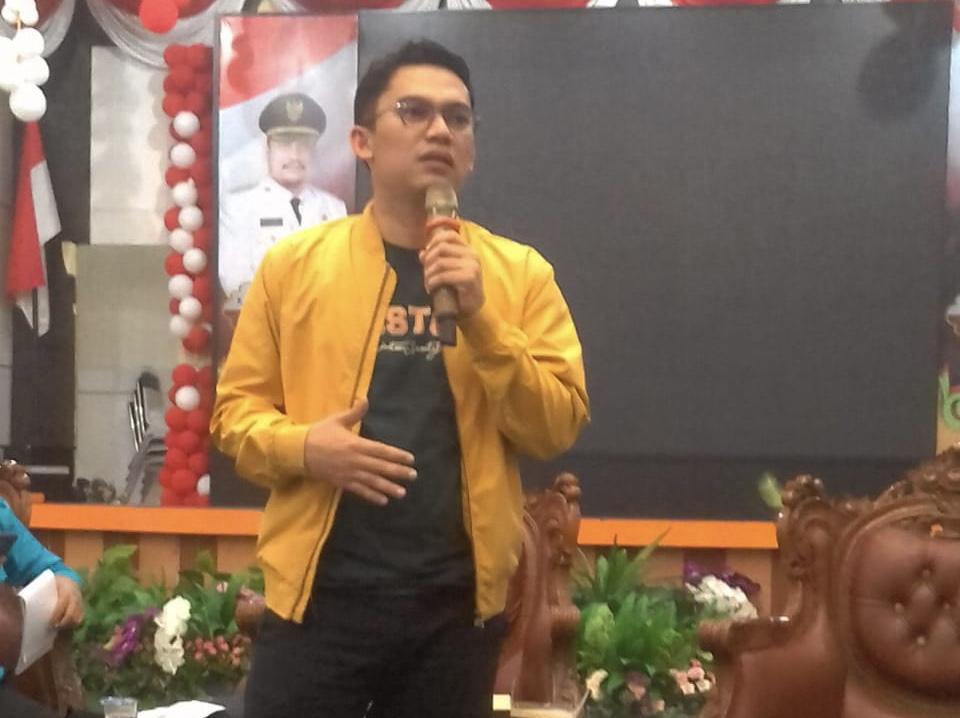 Hadir Ke Bangkinang Demi DPD KNPI Kampar, Ini Harapan Edwin Tabano