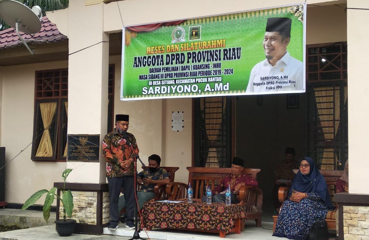 Konflik HGU, Sardiyono Desak Pemrov Riau Tinjau Kembali HGU PT Rimba Lazuardi dan RAPP