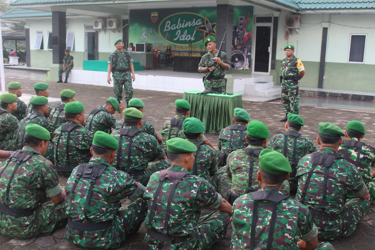Kodim 0314 Inhil Laksanakan Program Minggu Militer