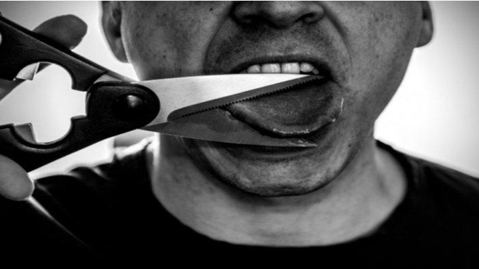Sempat Depresi, Pria Ini Nekat Potong Lidahnya Sendiri! Alasannya Bikin Orangtua Was-Was