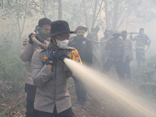 6 Polda Termasuk Riau Jadi Prioritas Polri Cegah Karhutla