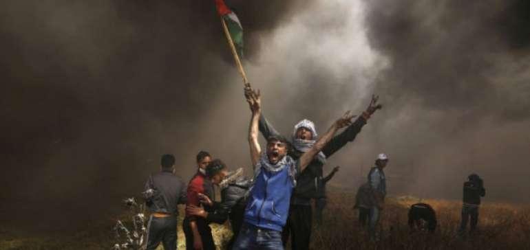 Bentrokan di Jalur Gaza, 8 Warga Palestina Tewas dan 1000 lainnya Luka-Luka