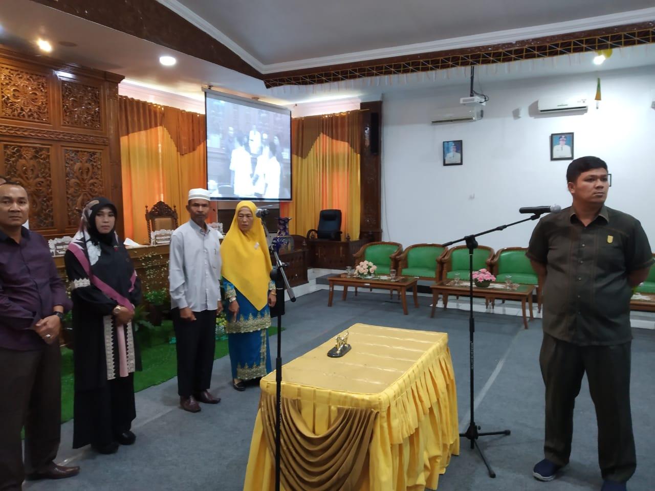 Mastur : Besok, Anggota DPRD Kuansing PAW Dilantik