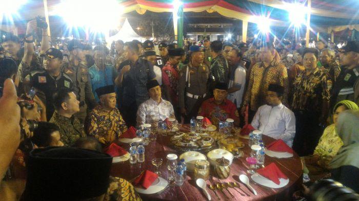 Kepala BRG dan Andi Rachman Hadiri Malam Syukuran Pelantikan Gubernur dan Wagubri