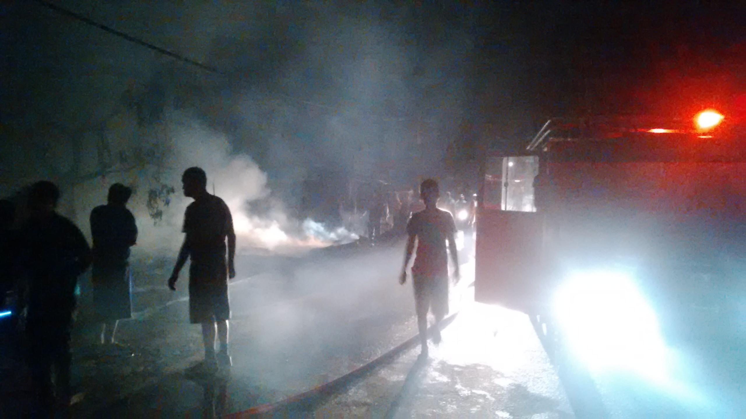 Kebakaran, Yusfik : Nanti Kalau Sudah Selesai Diberi Keterangan