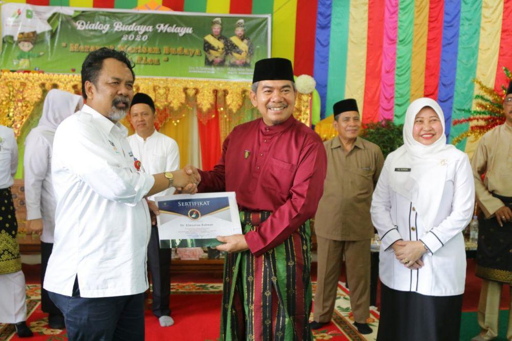 Disbud Riau Gelar Dialog Budaya Melayu di SMAN 6 Pekanbaru