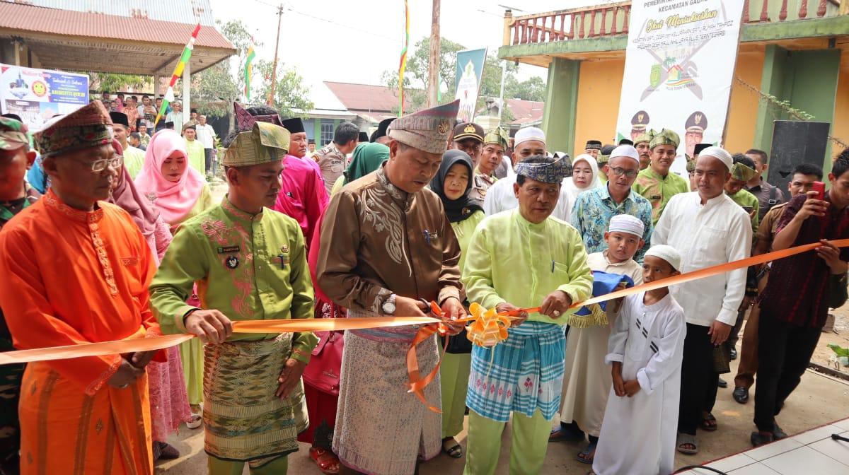 Wabup Syamsuddin Uti Resmikan Rumah Tahfidz Raudhatul Qur'an Desa Belantaraya