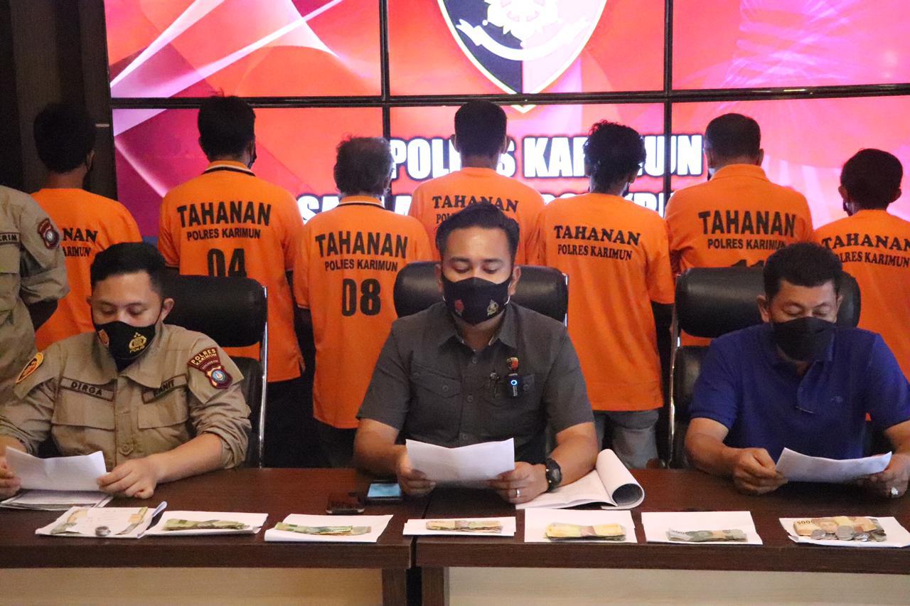 10 Tersangka Ditangkap Dalam Operasi Premanisme dan Saber Pungli