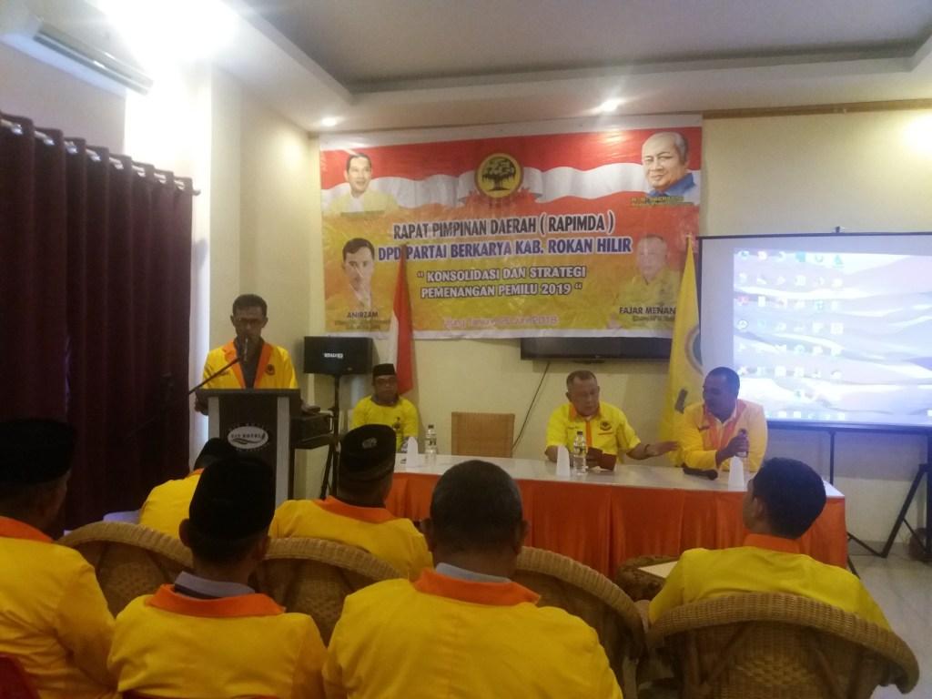 Partai Berkarya Rohil Beri Sinyal Hijau ke Bacabup Afrizal Sintong