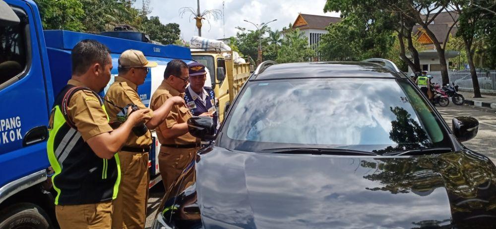 Bapenda Riau Gelar Razia Pamungkas Pajak Kendaraan