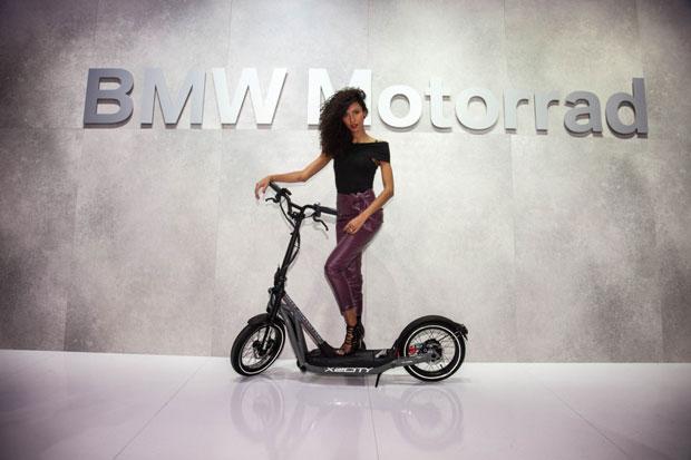 BMW Perkenalkan Skuter Listrik Mungil X2City