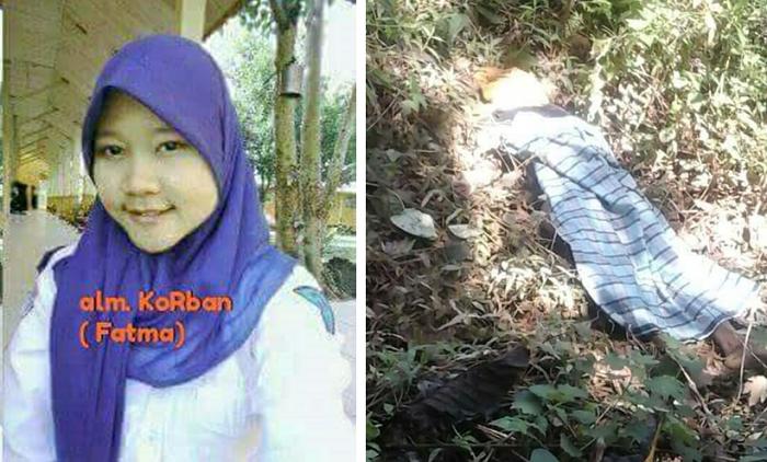 KEJI! Siswi SMP Ini Ternyata Diperkosa dan Dibunuh Abang Kandung Sendiri