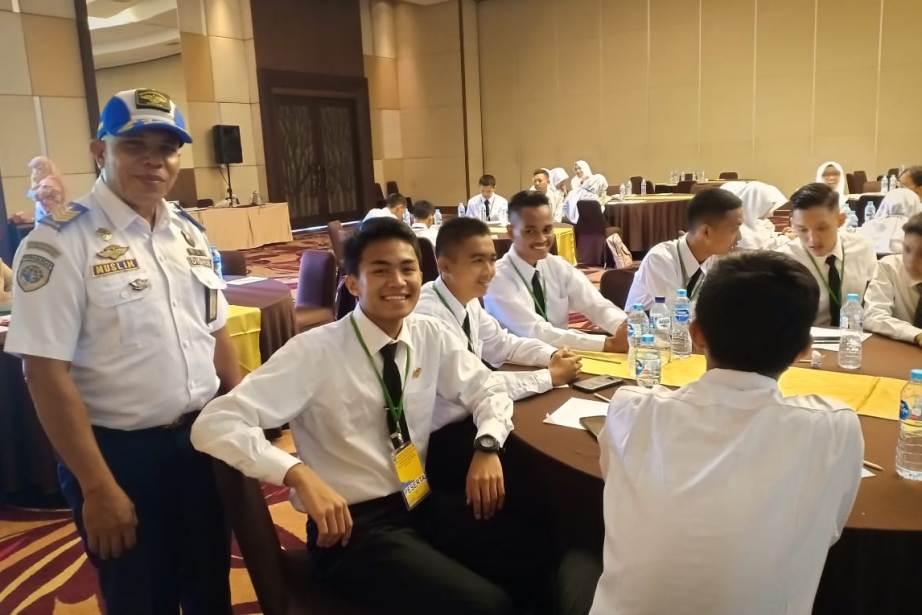 Zaid Azmi, Wakil Riau di Lomba Peningkatan Kapasitas Pelajar Peduli Keselamatan Tingkat Nasional
