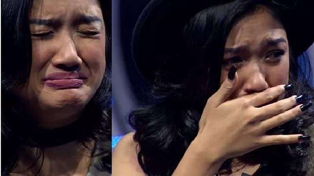Video Ini Diputar, Marion Jola Menangis Sejadi-jadinya di Panggung Spektakuler Indonesian Idol RCTI