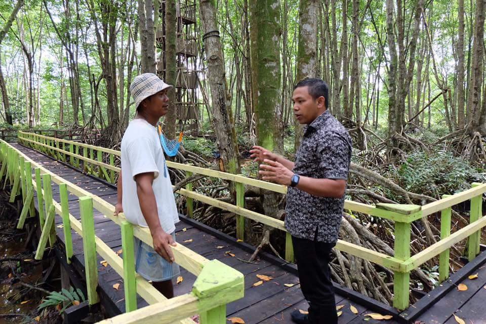 Sensasi Berbeda Menyusuri Indahnya Pesona Hutan Mangrove di Pantai Solop