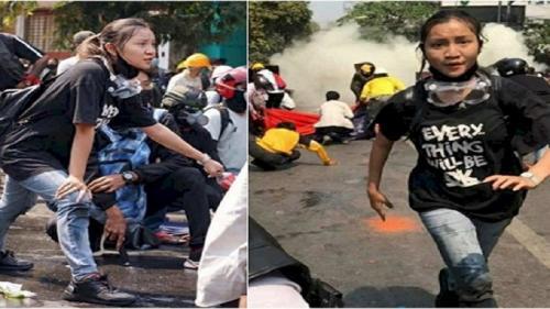Kisah Sang Demonstran Cantik Myanmar, Gugur Dan Sumbangkan Organ Tubuhnya