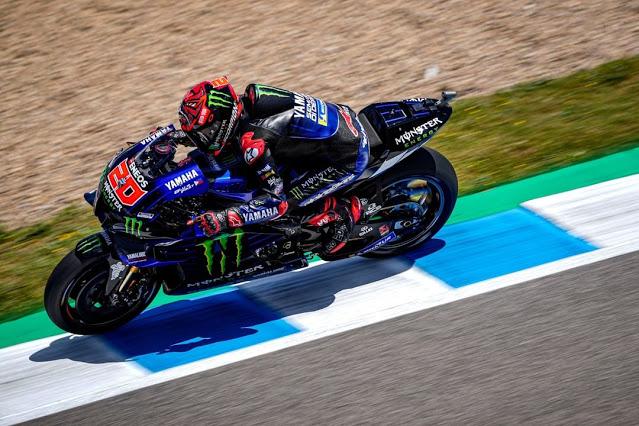 Hasil FP4 MotoGP Spanyol: Quartararo Tercepat, Marc Marquez 10 Besar