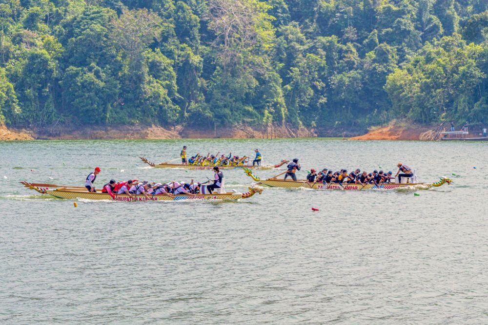 Tahun Ini Festival Dragon Boat di Kampar Dibatalkan