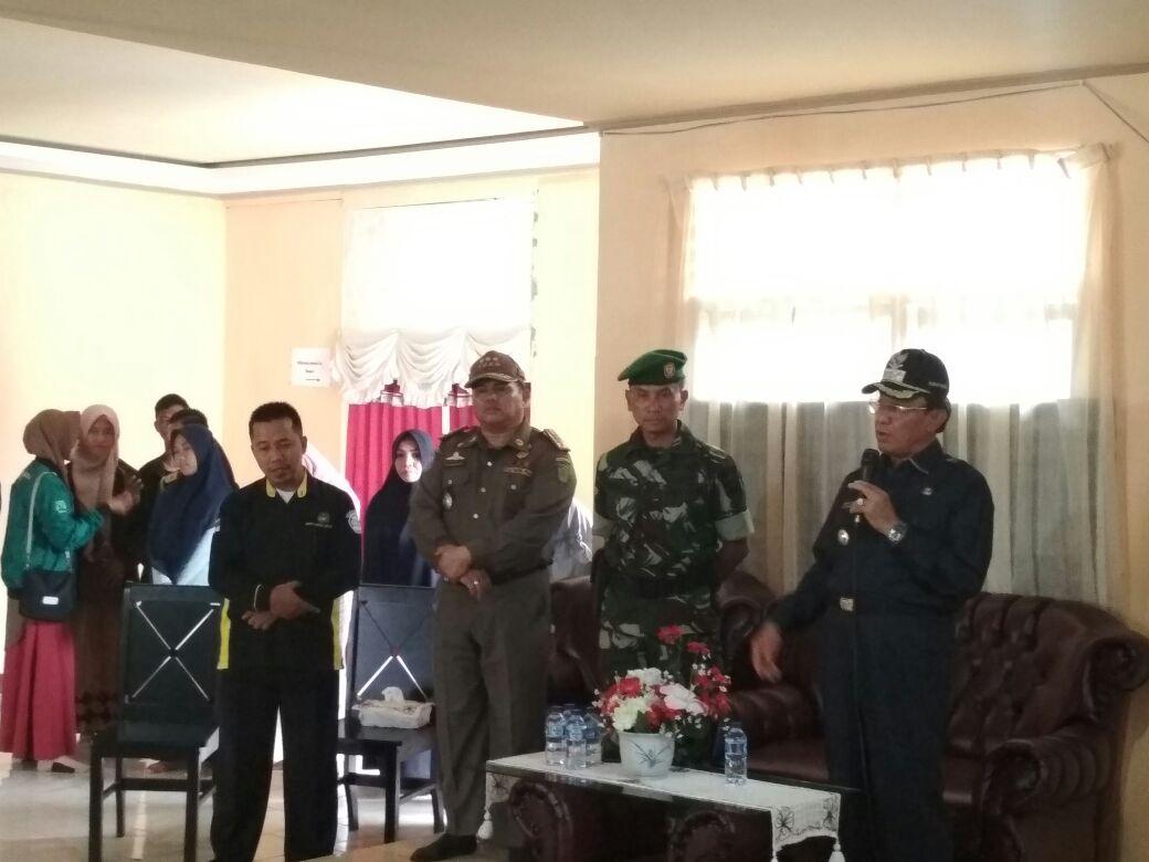Bupati Inhil Kunjungi Karantina Rehabilitasi Remaja Korban Penyalahgunaan Lem Kambing